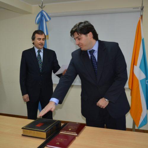 Asumió el cargo el nuevo Agente Fiscal designado en Ushuaia
