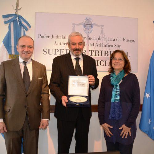 Integrante del Consejo de la Magistratura de Salta visitó el Superior Tribunal
