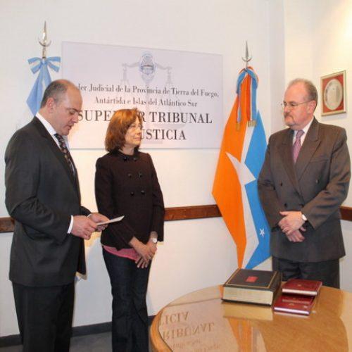 Juró el Doctor Kádár en la Secretaría Penal del Superior Tribunal de Justicia