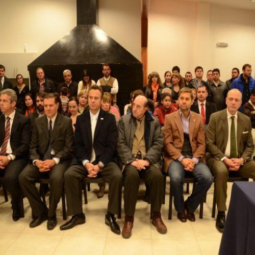 El Presidente del Superior Tribunal asistió al acto de jura en el Colegio de Abogados de Ushuaia