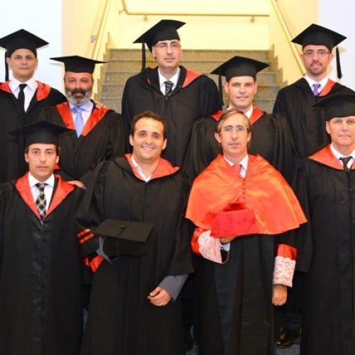 Funcionarios judiciales recibieron su diploma de Magíster en Derecho Penal