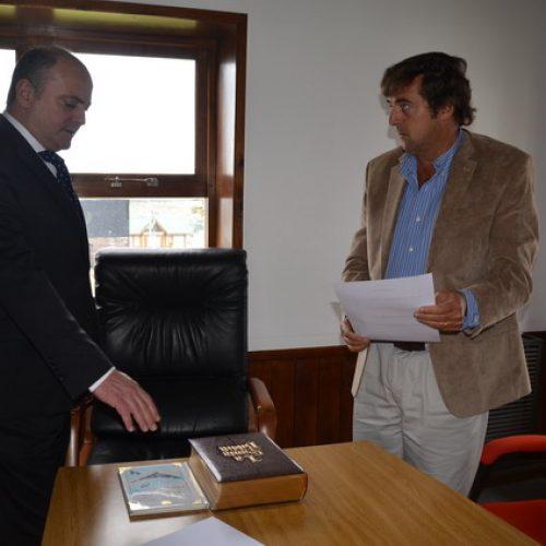 El Doctor Carlos Gonzalo Sagastume juró en el Consejo de la Magistratura