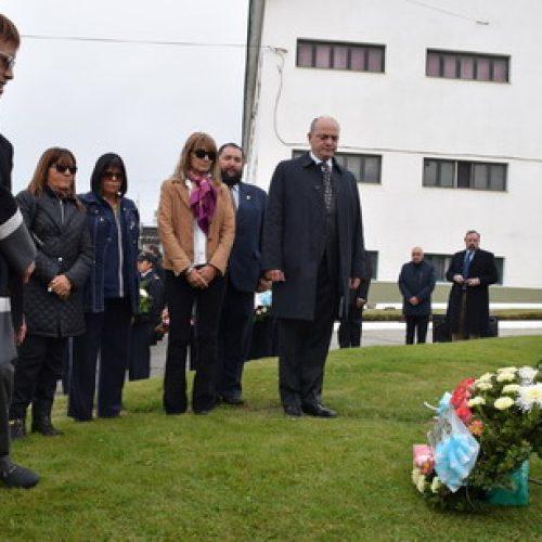 El Poder Judicial asistió al acto de homenaje al Almirante Guillermo Brown