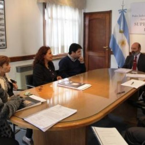 El Presidente del Superior Tribunal de Justicia recibió al Directorio del IPAUSS