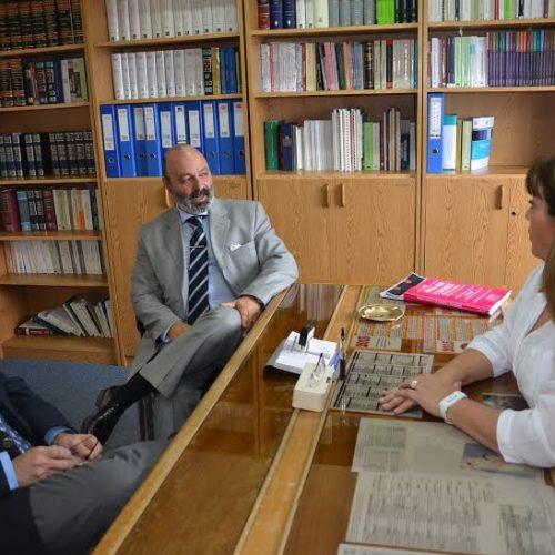 El Presidente del Superior Tribunal de Justicia realiza visitas a unidades funcionales en Río Grande