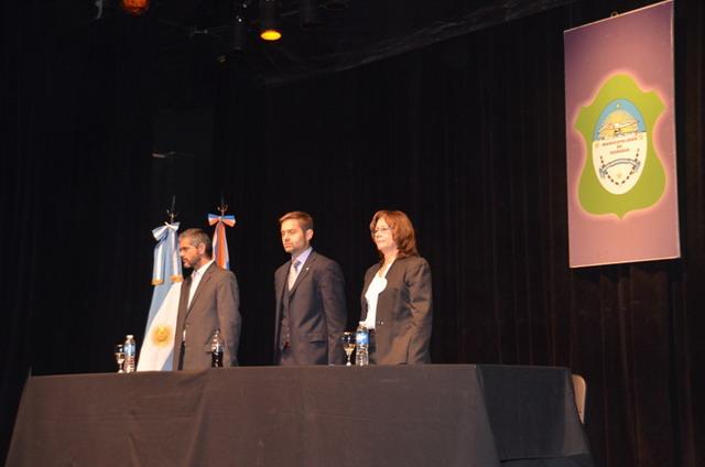 Acto aniversario jura Carta Magna municipal