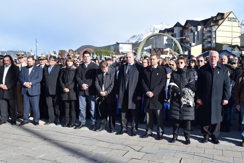 El STJ presente en 33 Aniversario Guerra Malvinas (1)
