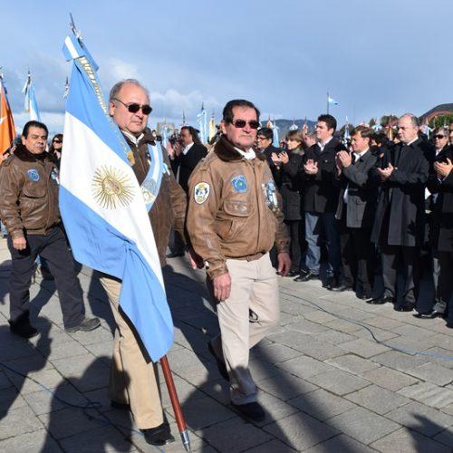 El Superior Tribunal de Justicia participó del acto por el 33° Aniversario de la Guerra de Malvinas
