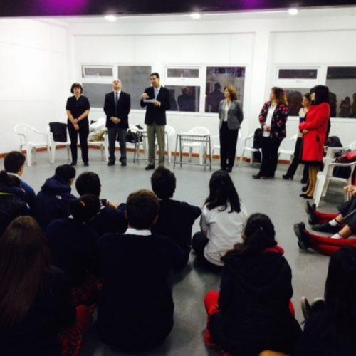 Alumnos del Colegio Nacional tuvieron su primer encuentro con el 'Programa Acercándonos a la Comunidad'