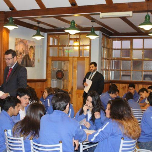 El Colegio Don Bosco comenzó con los talleres del Programa Acercándonos a la Comunidad