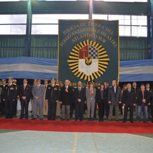 El Superior Tribunal de Justicia participó del acto por el 130° Aniversario de la Policía Provincial