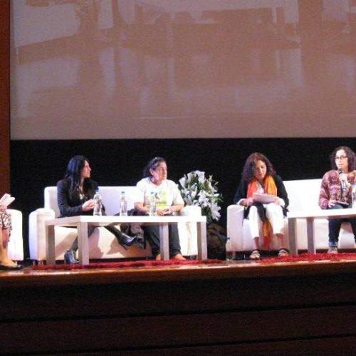 La Doctora Battaini disertó en la Cumbre Mundial de Arte y Cultura para la Paz de Colombia