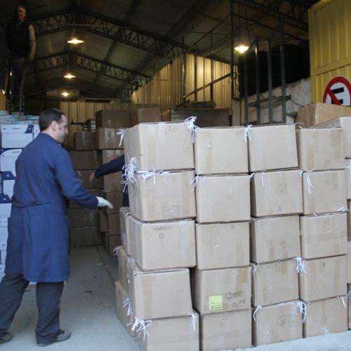 El Poder Judicial donó más de cien kilos de papel a la Fundación Garrahan
