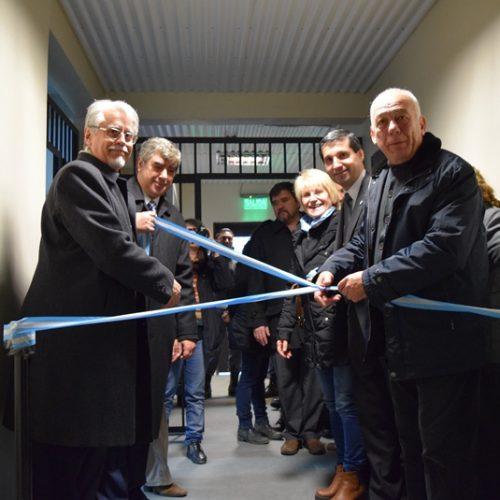 Funcionarios del Poder Judicial participaron de la inauguración de la casa de pre egreso de la Unidad de Detención N° 1