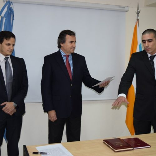 Juró el Secretario del Ministerio Público Fiscal del Distrito Judicial Sur