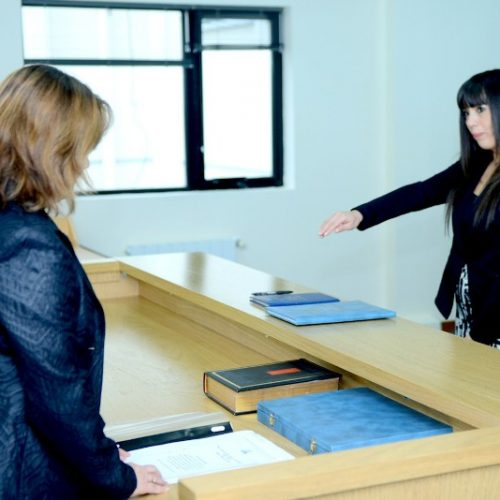 La Doctora Begg juró como Prosecretaria Interina del Juzgado Civil y Comercial N° 1 del DJN