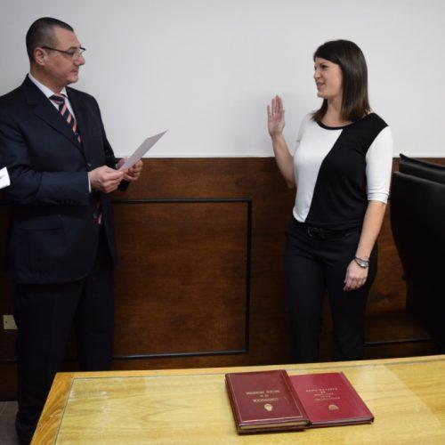Nueva Prosecretaria en el Juzgado Civil y Comercial Nº 1 de Ushuaia