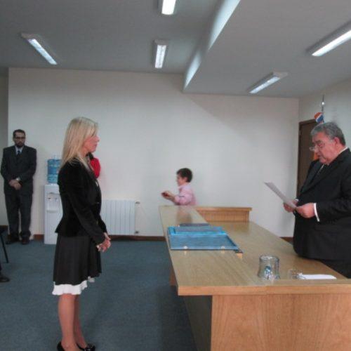 La Doctora Cantiani juró como Secretaria del Tribunal de Juicio DJN