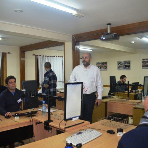 El Director Nacional Electoral destacó el sistema de votación en Tierra del Fuego