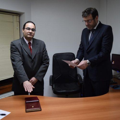 Juró el Doctor López como secretario interino del Juzgado Civil y Comercial N° 2