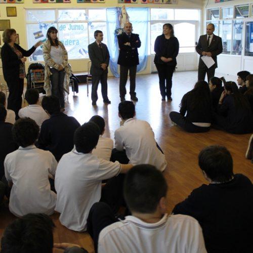 Alumnos del Monseñor Alemán participan del Programa Acercándonos a la Comunidad