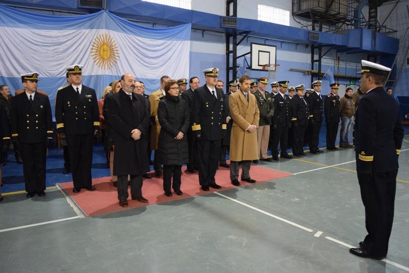El acto central se desarrolló en el gimnasio Don Bosco