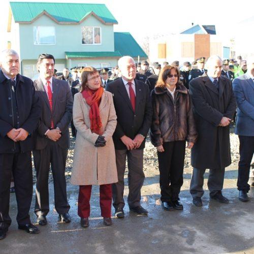 Autoridades del Superior Tribunal de Justicia participaron de la inauguración de nueva Comisaría en Ushuaia
