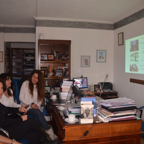 La Doctora Battaini se reunió con la Coordinadora de la CONSAVIG