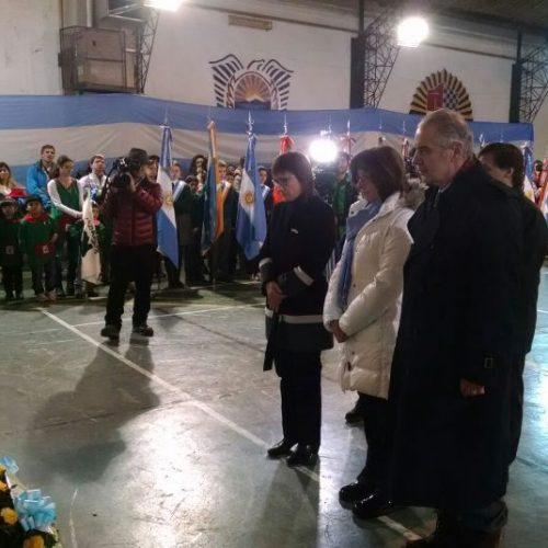 Autoridades del Superior Tribunal de Justicia participaron del acto del 165º Aniversario del Fallecimiento del General José de San Martín