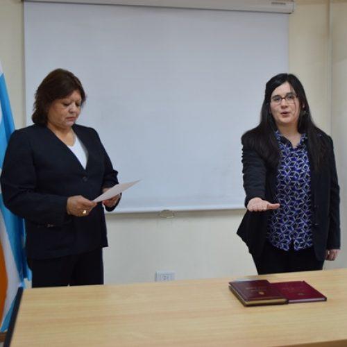 La Doctora Gareca juró como Prosecretaria del Juzgado de Instrucción N° 2 de Ushuaia