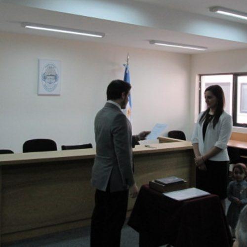 Nueva Prosecretaria en el Juzgado de Instrucción N° 2 de Río Grande