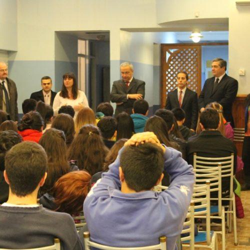 Alumnos del Colegio Nacional y Don Bosco realizaron el primer taller de simulación de juicio