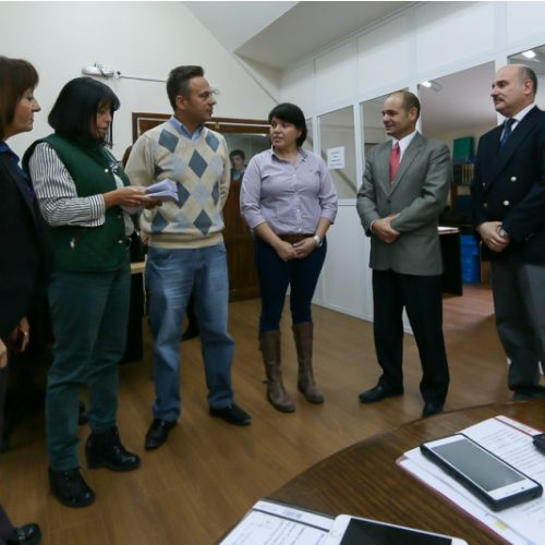 Juzgado de Familia recibió cartillas sobre procedimiento judicial de protección a víctimas de violencia familiar