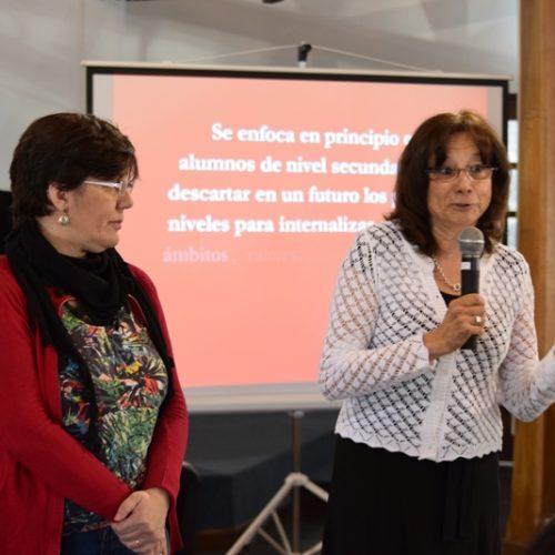 La Doctora Battaini encabezó la apertura de la simulación de juicio que se realizó en Ushuaia