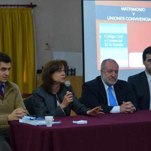 Concluyen en Tierra del Fuego las jornadas de actualización del Código Civil y Comercial