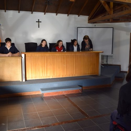 Estudiantes de Ushuaia realizarán una simulación de juicio