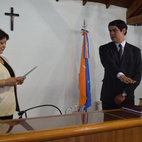 El Doctor Guardia juró como Prosecretario del Juzgado de Instrucción en Ushuaia