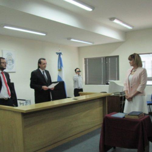 Juró la Prosecretaria Interina del Ministerio Público Fiscal de Río Grande