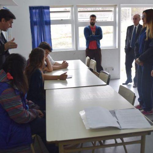 Estudiantes de Ushuaia realizaron último taller de trabajo previo a participar de la simulación de un juicio