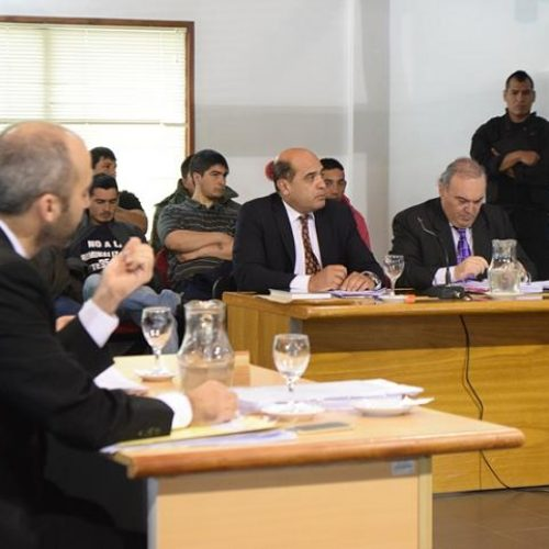 Cinco agentes de la Policía declararon ante los jueces del Tribunal en el juicio a sindicalistas