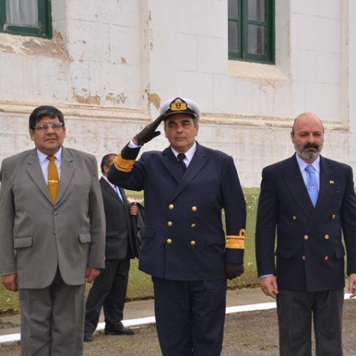 El Superior Tribunal de Justicia participó de la ceremonia de Aniversario del Área Naval Austral