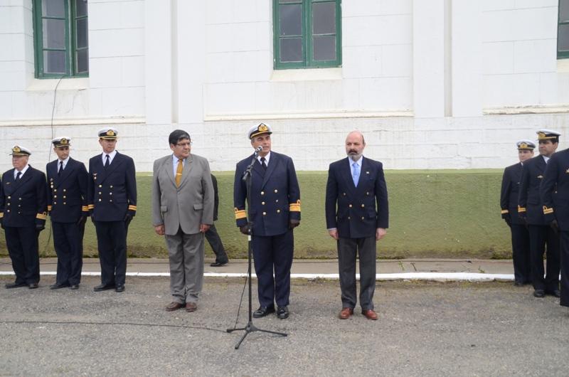 Ceremonia aniversario del Área Naval Austral (2)