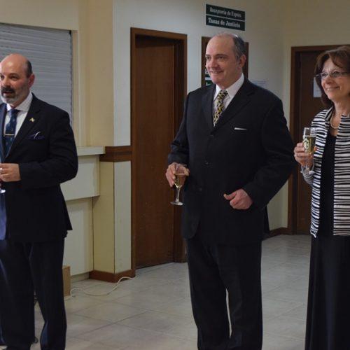 Los jueces del Superior Tribunal de Justicia brindaron su saludo de fin de año en Río Grande