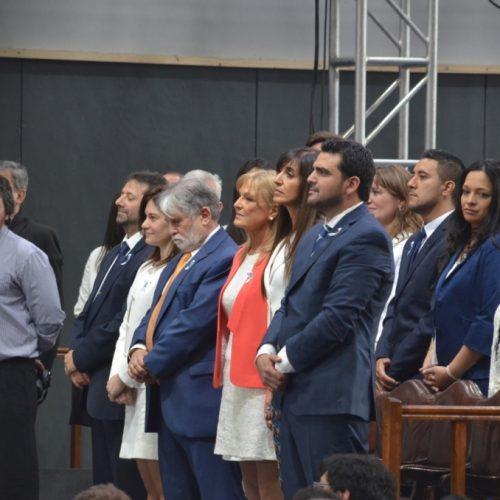 El Superior Tribunal de Justicia estuvo presente en la jura del  intendente de Ushuaia