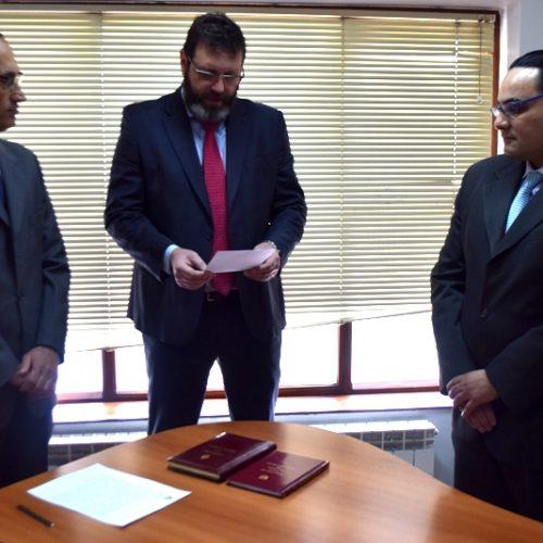 El Doctor López juró como Secretario del Juzgado Civil y Comercial N° 2 del Distrito Judicial Sur
