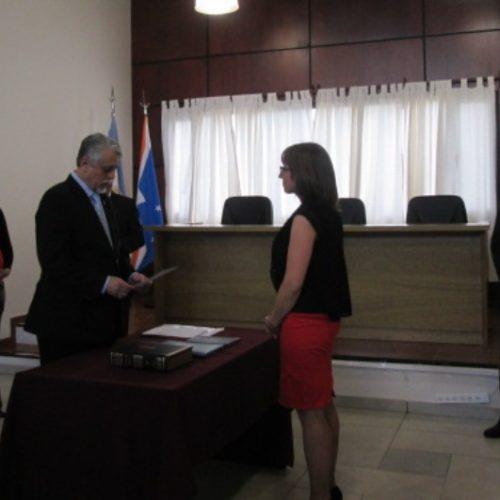 La Doctora Velazco juró como Prosecretaria de la Sala Penal