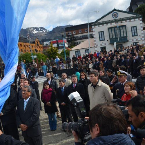 El Superior Tribunal de Justicia estuvo presente en actos por el Día de la Antártida Argentina