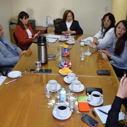 El Poder Judicial y la Secretaría de la Mujer plantearon una agenda de trabajo conjunta para el abordaje de violencia de género