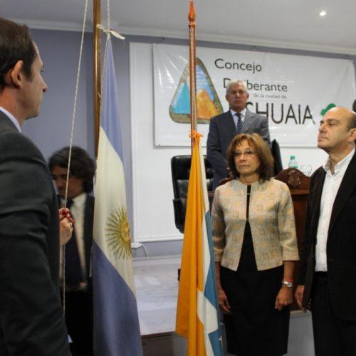 Autoridades del Poder Judicial participaron de apertura de sesiones ordinarias de los concejos deliberantes