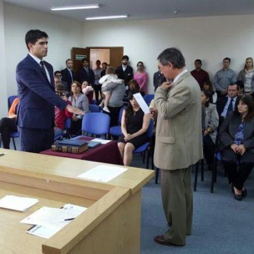 El Doctor Escola juró como Prosecretario de Ejecución del Juzgado en lo Civil y Comercial N° 2
